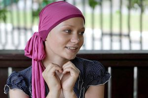 пациентка с химиотерапией груди