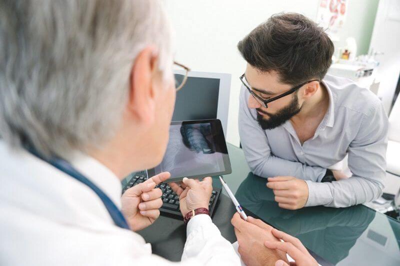 Ізраїль діагностика раку легенів